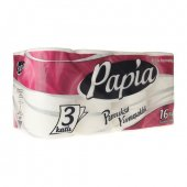 Papia Tuvalet Kağıdı 16lı (3 Katlı B Side Technolo...