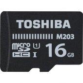 Toshiba 16gb Micro Sdhc Uhs 1 C10 Thn M203k0160ea