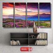 bahar manzarası tabloları MODEL 10 - 129x75 cm