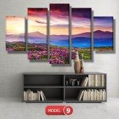 bahar manzarası tabloları MODEL 10 - 129x75 cm-2