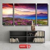 bahar manzarası tabloları MODEL 10 - 129x75 cm-3