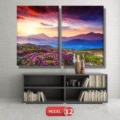 bahar manzarası tabloları MODEL 10 - 129x75 cm-4