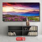 bahar manzarası tabloları MODEL 10 - 129x75 cm-5