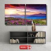 bahar manzarası tabloları MODEL 10 - 129x75 cm-6