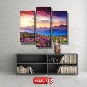 bahar manzarası tabloları MODEL 10 - 129x75 cm-7