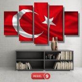 bayrak tablosu MODEL 13 - 120x60 cm-2
