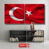 bayrak tablosu MODEL 13 - 120x60 cm-6