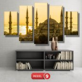 sultan ahmet cami tablosu MODEL 13 - 120x60 cm-2