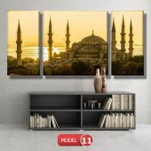 sultan ahmet cami tablosu MODEL 13 - 120x60 cm-3