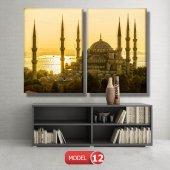sultan ahmet cami tablosu MODEL 13 - 120x60 cm-4