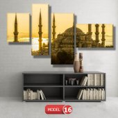 sultan ahmet cami tablosu MODEL 13 - 120x60 cm-8