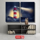 deniz feneri tabloları MODEL 13 - 120x60 cm