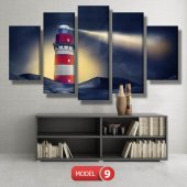 deniz feneri tabloları MODEL 13 - 120x60 cm-2