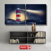 deniz feneri tabloları MODEL 13 - 120x60 cm-6