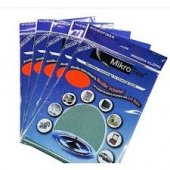 6 Adet Mikrotex Mikrofiber Cam Bezi 6 Adet Eko Paket 3 Renk