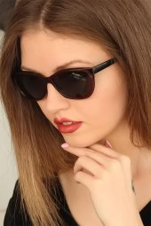 Bordo Renk Çerçeveli Clariss Bayan Güneş Gözlüğü