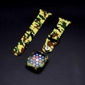 Apple Watch 42mm Zore 3 İn 1 Army Kordon