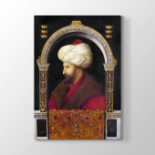 Gentile Bellini - Fatih Sultan Mehmet Portresi 60x90 cm