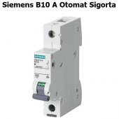 Siemens B10 Amper Otomat Sigorta