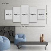 5 Parçalı Kanvas Tablolar - Made Modern Tablolar ORTA BOY-3