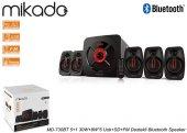 Mikado MD-730BT 5+1 30W+8W*5 Usb+SD+FM Destekli Bluetooth Speaker-3