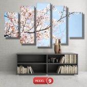 bahar çiçekleri tabloları MODEL 9 - 162x75 cm-2