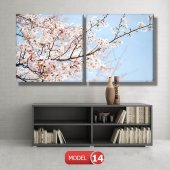 bahar çiçekleri tabloları MODEL 9 - 162x75 cm-3
