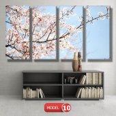 bahar çiçekleri tabloları MODEL 9 - 162x75 cm-4