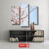 bahar çiçekleri tabloları MODEL 9 - 162x75 cm-5