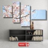bahar çiçekleri tabloları MODEL 9 - 162x75 cm-7