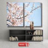 bahar çiçekleri tabloları MODEL 9 - 162x75 cm-8