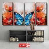 mavi kelebeki tablo modelleri MODEL 16 - 184x107 cm-3