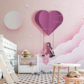 Çocuk Odası Duvar Kağıdı - Salıncak - Seçenekli Ürün 700x375 cm