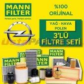 Opel Astra J 1.6 16v Turbo Mann Filter Filtre Bakı...