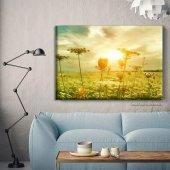 Manzara Resimli Kanvas Tablo 60 cm x 120 cm