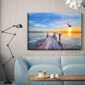 Manzara Resimli Kanvas Tablo 50 cm x 70 cm