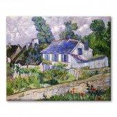 Vincent Van Gogh - Houses_at_Auvers_-Auversdeki Evler Tablosu