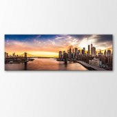 Panorama Kanvas Tablo Manzara Tabloları 210x70 cm