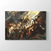 Peter Paul Rubens - Phaetonun Düşüşü Tablosu 100x125 cm