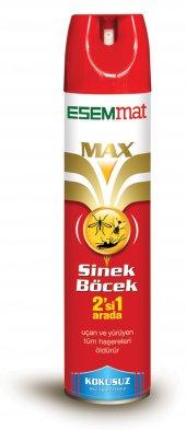 Esemmat Max Sprey Hem Sinek Hem Böcek Kokusuz