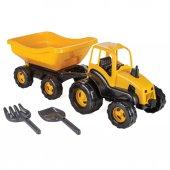 Pilsan Römorklu Oyuncak Traktör İş Aracı