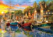 Ks Games 3000 Parça Harbour Lights Puzzle Dominic Davison