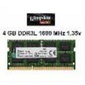 KINGSTON 4-1600 Mhz 1,35v CL 11 Notebook Belleği-2