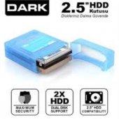 """DARK DK-AC-DAK2B 2.5"""" Çift Disk Koruma ve Taşıma"""