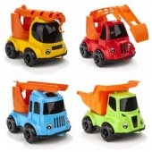 Pilsan Süper Trucks Kamyonlar - Erganomik Tasarım Dayanıklı 07-65-6