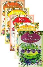 Yakamoz Yayınları Kokulu Masallar Özel Ayraçlı Kış Meyveleri 5 Kitap