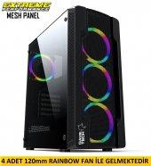 Gametech Colder Mesh Panel 4x120mm Fanlı...