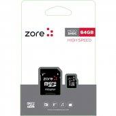 Zore Micro Sd Hafıza Kartı 64gb