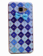 Galaxy A5 2016 Kılıf Zore Papyon Silikon + Cam Ekran Koruyucu Hed-10