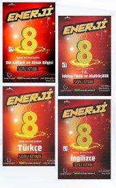 Enerji 8. Sınıf Sözel Tüm Dersler Soru Seti Kitabı Palme Kitabevi